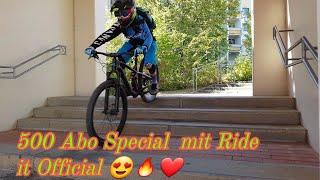 500 Abo Special mit Ride it Official durch Schweinfurt ❤😍🔥💥