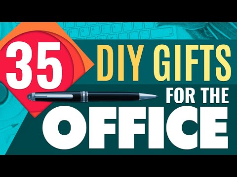 DIY Gifts For The Office | 35 Cheap And Easy Presents For CoWorkers & Employees