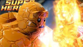 Lego Marvel Super Heroes | GO GO FANTASTIC FOUR! | Lego Marvel Super Heroes Gameplay Part 8