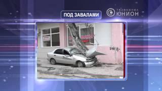Лоджия обрушилась на авто(, 2013-09-27T15:22:28.000Z)
