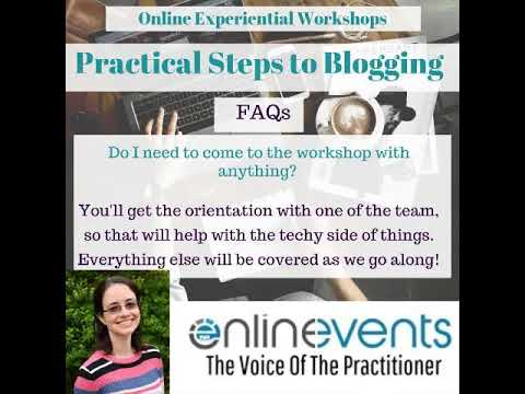 Practical Steps to Blogging 2