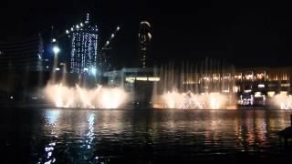 The Dubai Fountain Michael Jackson - Thriller