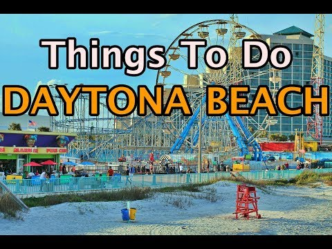 Top Things To Do In Daytona Beach, Florida | 4K