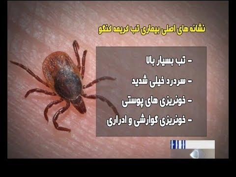 Iran Crimean-Congo hemorrhagic fever (CCHF) kills three مرگ سه نفر بدليل ويروس كريمه كنگو ايران