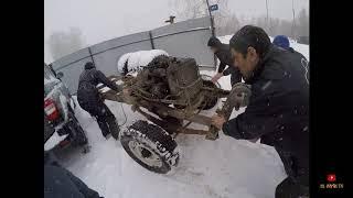 """Снимаем кузов с рамы """"Буханка""""#7 Строим снегоболотоход """"УМКА"""""""