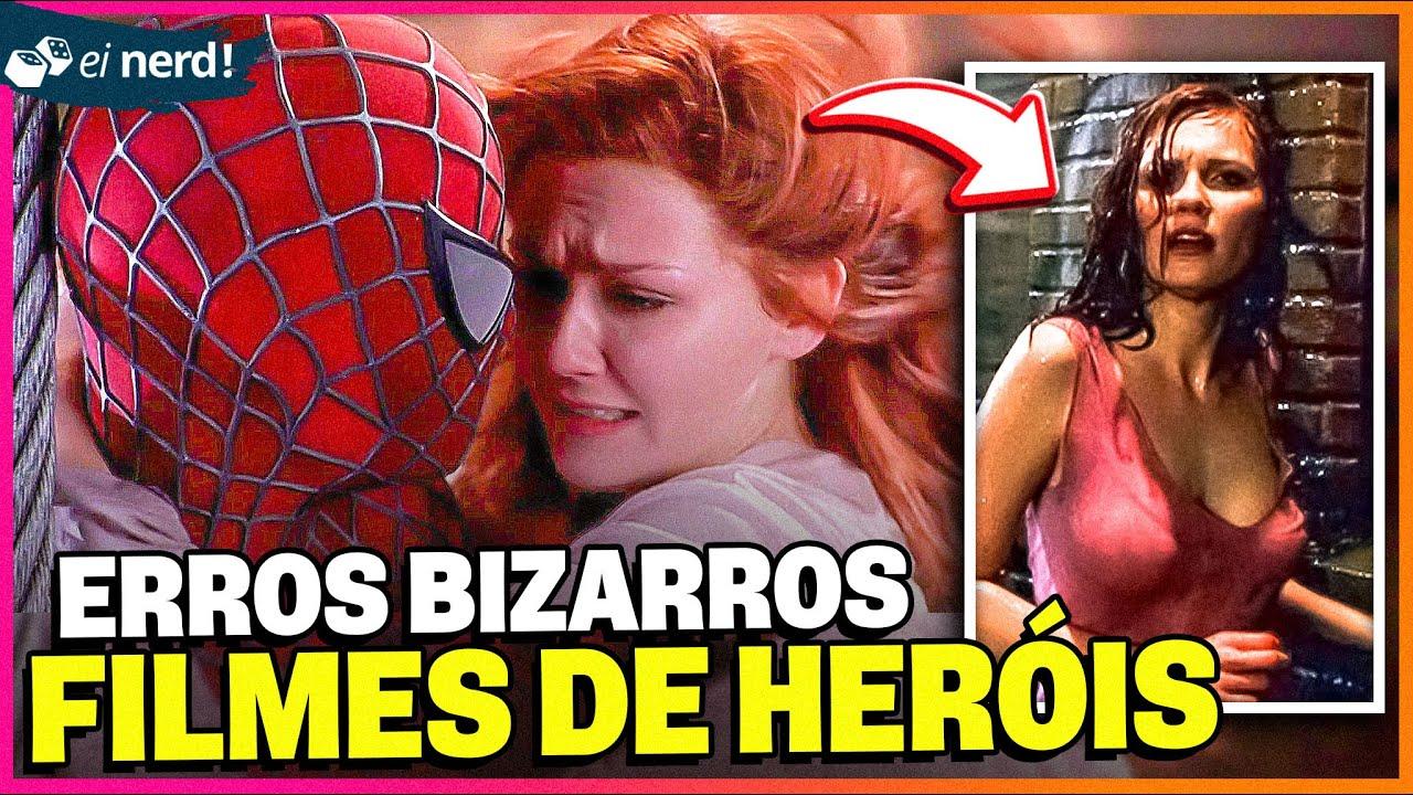 11 ERROS DOS FILMES DE SUPER-HERÓIS QUE VOCÊ NUNCA PERCEBEU