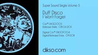 Duff Disco - I Won