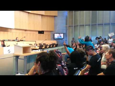 Block the Bunker in Seattle council(5)