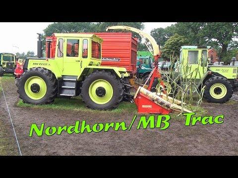 Historischer Feldtag Nordhorn 2017 Zeit für MB Trac & Unimog