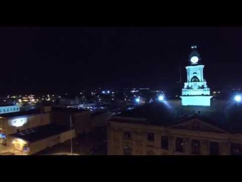 Night Droning - Elmira at night.