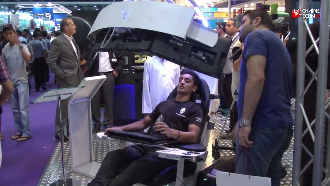 gitex shopper la chaise ultime des gamers youtube