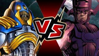 Galactus VS Anti-Monitor | BATTLE ARENA