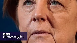 Will Angela Merkel end up out in the cold over refugees? BBC Newsnight