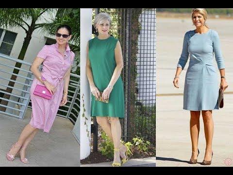 Vestidos Casuales Para Señoras 40 A 50 Años 2019