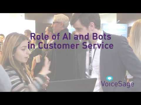 AI and Bots in Customer Service for 2018 - VoiceSage