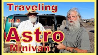 Ultra Simple Traveling Astro Van