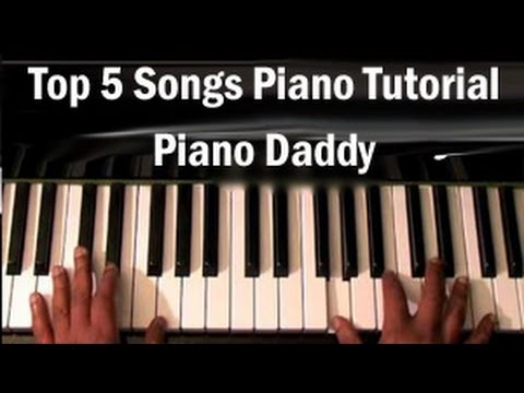 Top 5 Hindi Songs Piano Tutorial Piano Daddy Youtube