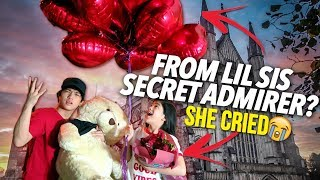SOMEONE GAVE MY LIL SIS A VALENTINE GIFT?! (Secret Admirer) | Ranz and Niana