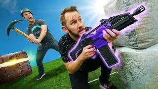 NERF Fortnite Battle Royale Challenge! thumbnail