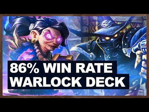 86% WIN RATE WARLOCK DECK BACK! | Control Warlock | The Boomsday Project | Hearthstone