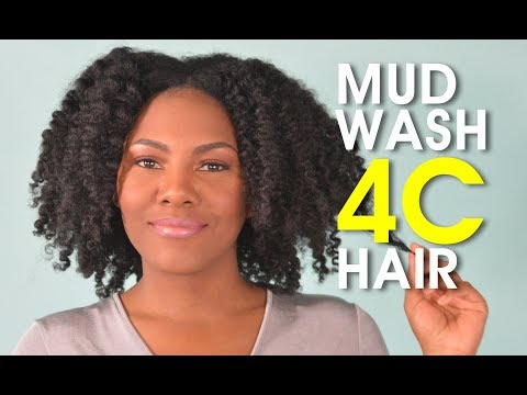 Here S My Quick Wash Day On Natural Hair Using The Mud Recipe From Last Video