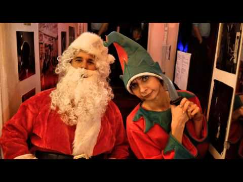 Santa and Ho Ho the Elf on the Thrilling Adventure Hour