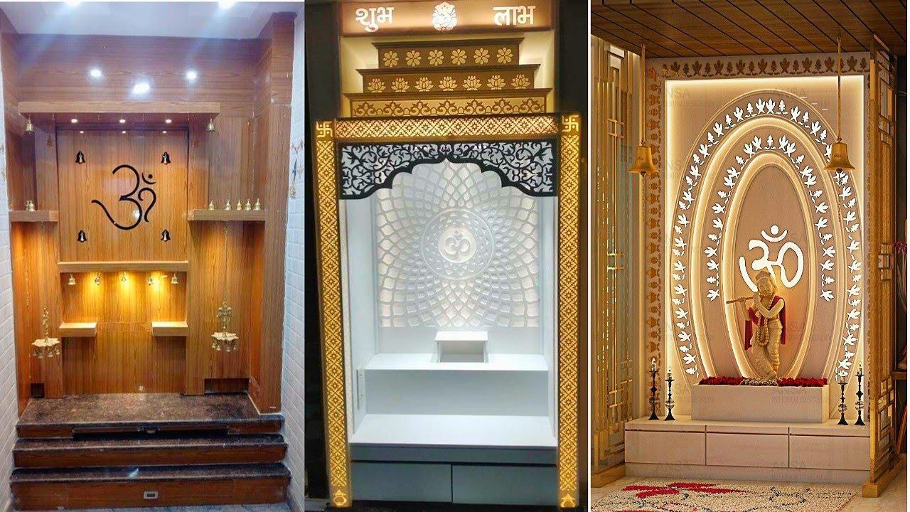 50 Mandir design ideas 2019 || Puja Room Mandir design - YouTube