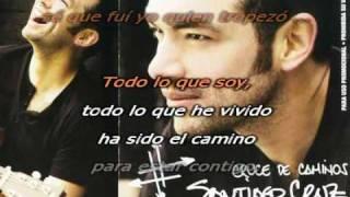 Santiago cruz - Baja la guardia karaoke