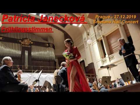 Patricia Janečková: Frühlingsstimmen - Johann Strauss II - Obecní dům Smetana Hall Prague 27 12 2019