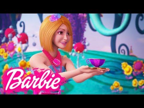 Мультик Барби и потайная дверь. Песня о волшебстве.