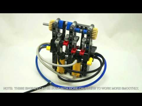 Lego Technic Pneumatic Engines