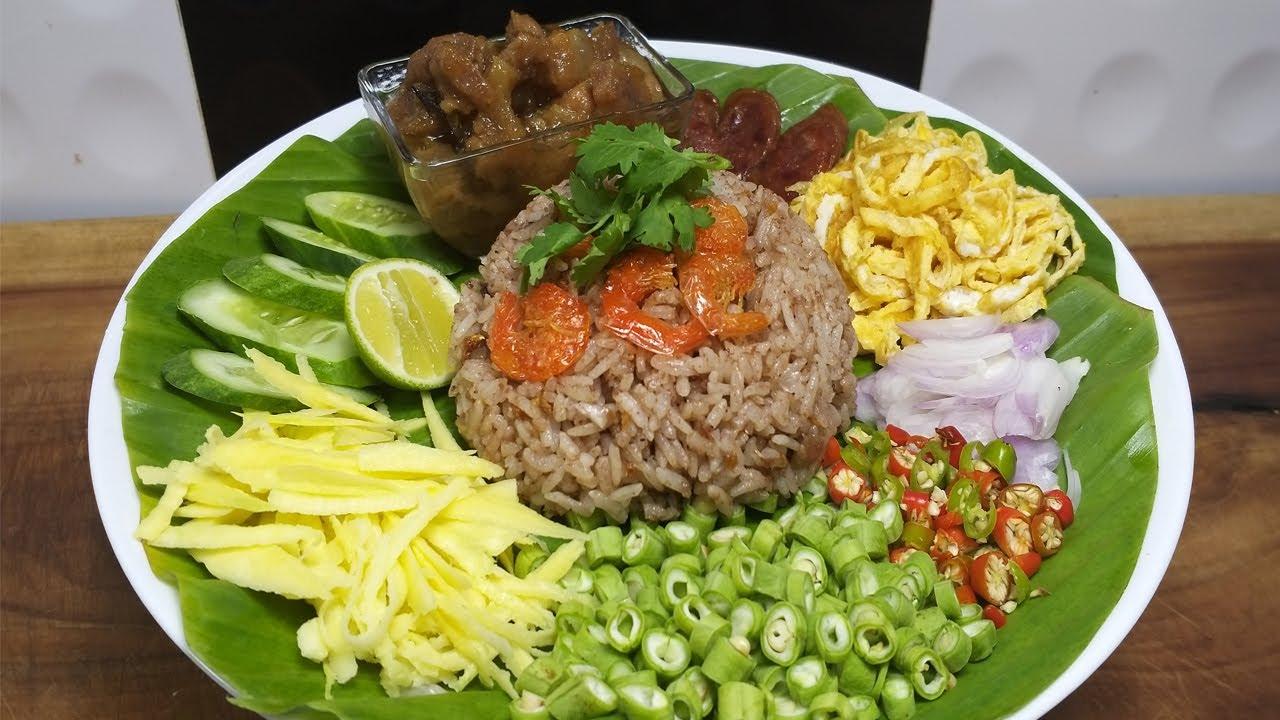 ข้าวคลุกกะปิ วิธีทำสูตรทำขาย เคล็ดลับร้านอาหาร เขาทำกันแบบนี้อร่อยเหมือนเดิมทุกจาน