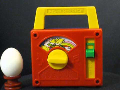 Music box for babies (Fisher Price radio) series
