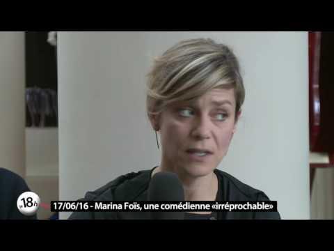Le 18h de Télénantes reçoit Marina Foïs