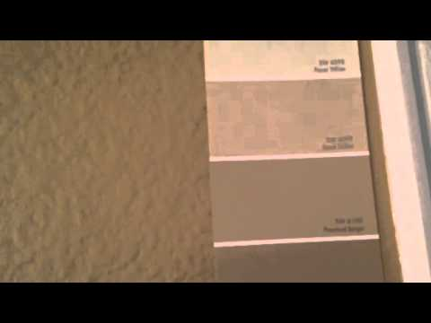 Tobacco Stain Ragging Faux Finish SW 6101 Sands Of Time - YouTube