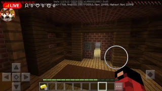 Live streamเล่น  Minecraft map horror