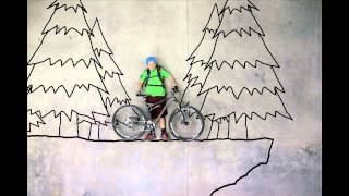 An Unlikely Ride: Binary Bike Stop Motion Video