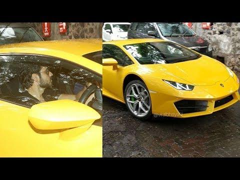 Emran Hahmi Wid His New Lamborghini Aventador For Rs 5.5crores Snapped Driving It On Mumbai Streets Mp3