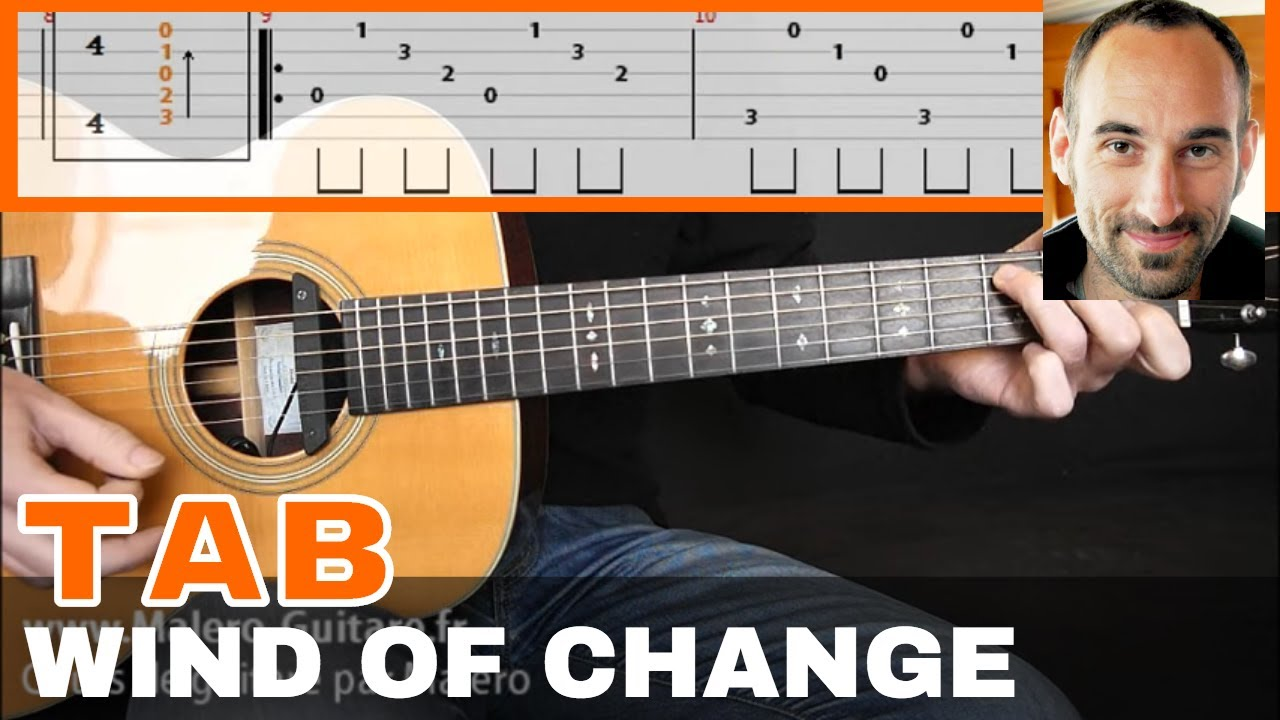 Wind Of Change Guitar Tab Youtube