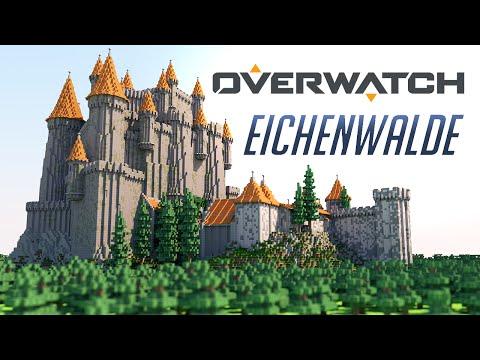 Overwatch - Eichenwalde Castle [Minecraft] [Maps]