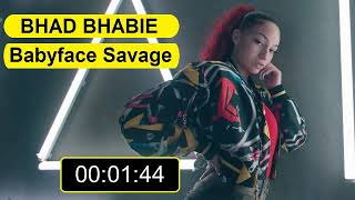 BHAD BHABIE - Babyface Savage In reverse