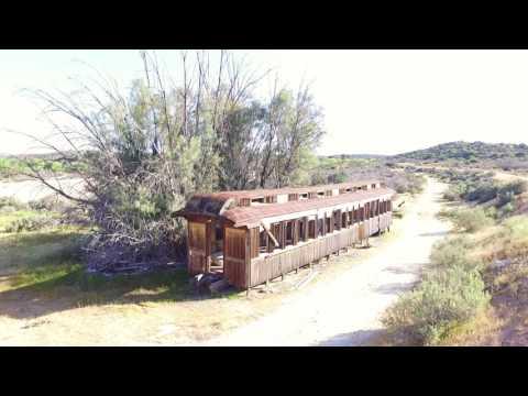 Carrizo Gorge Railyard Abandoned Trains In Jacumba