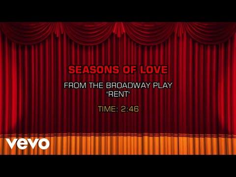 Rent, The Musical - Seasons Of Love (Karaoke)