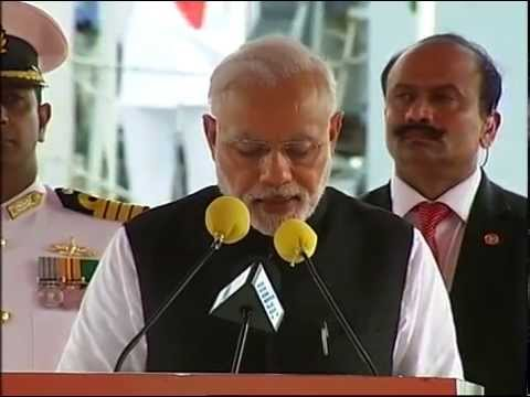 Narendra Modi at Joint Commissioning of Offshore, Mauritius