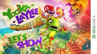 🔴 LIVE ab 20:45 Uhr - YOOKA-LAYLEE AND THE IMPOSSIBLE LAIR