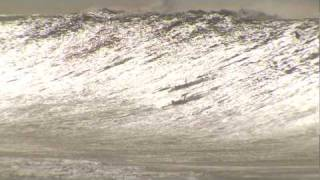 THE BIGGEST WAVE EVER CAUGHT? DORIAN & HEALEY PADDLE IN TO MONSTER WAVE