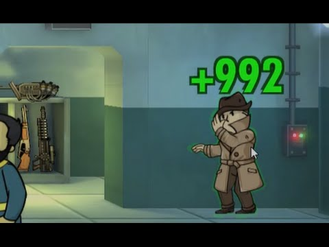 Fallout Shelter PC - Ep. 5 - Jackpot From Mysterious Stranger