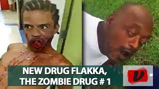 FLAKKA The Horrific Effects of the New Zombie Drug / Flakka Attacks COMPILATION #01