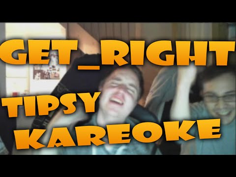 GeT_RiGhT's tipsy karaoke and flash dance (stream highlights)