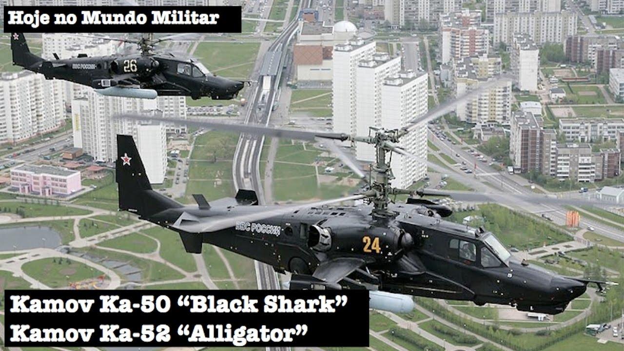Kamov Ka 50 Black Shark Ka 52 Alligator